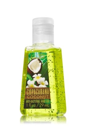 Copacabana Coconut Pocketbac Sanitizing Hand Gel Bath Body