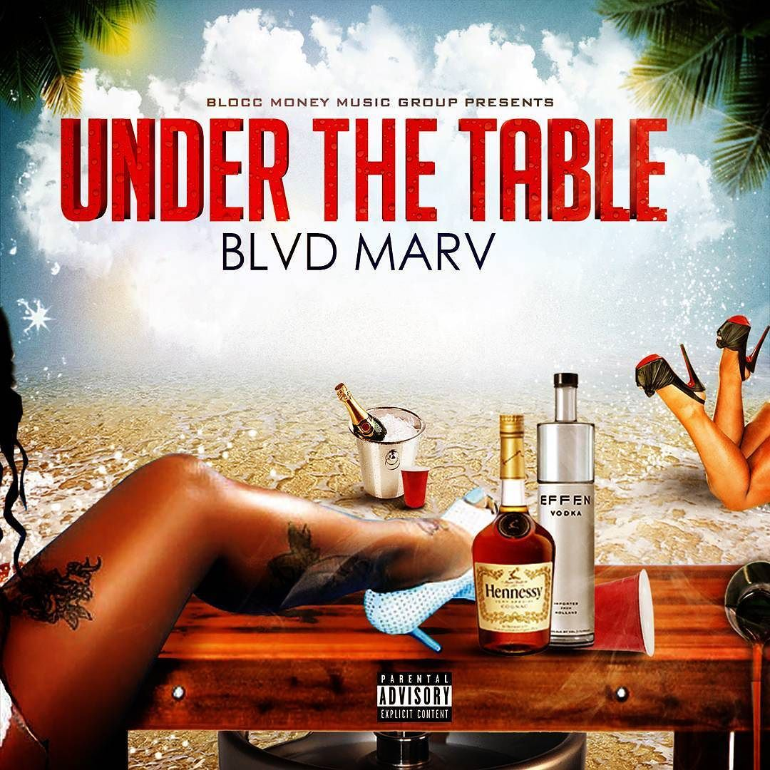 Under The Table Custom Mixtape Cover Design Checkout Our Sit For