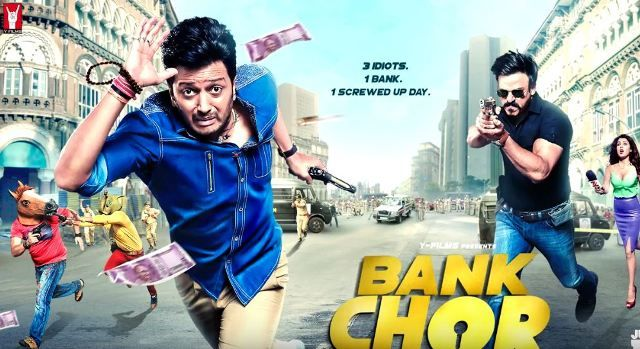 Bank Chor (2017) Hindi Movie DVDScr 700MB MKV Movie : Bank Chor