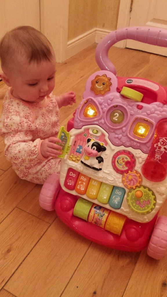 Vtech Sit Stand Learning Walker Pink Got Amelia On Her