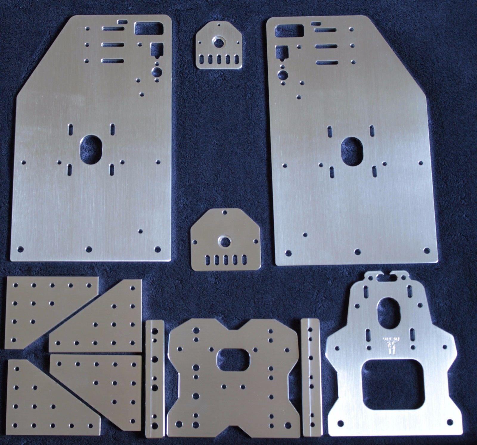 Openbuilds Ox Cnc Tall Aluminum Gantry Plates 4 W X