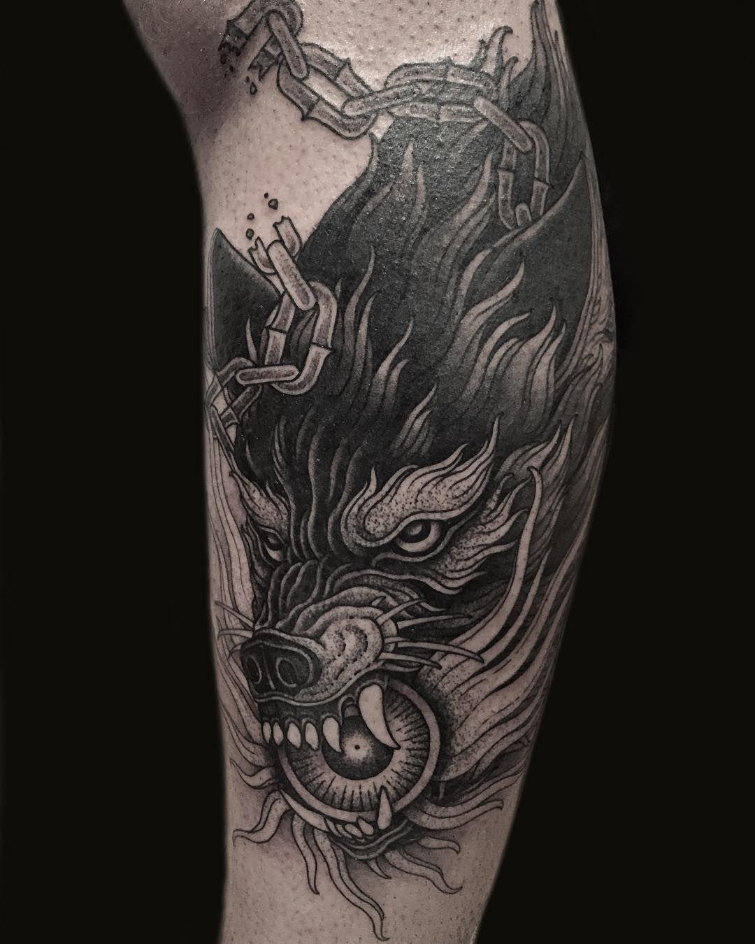 b8f18c5eb 40 Best Wolf Head Tattoo Designs and Ideas (2019)   Tattoo Ideas ...