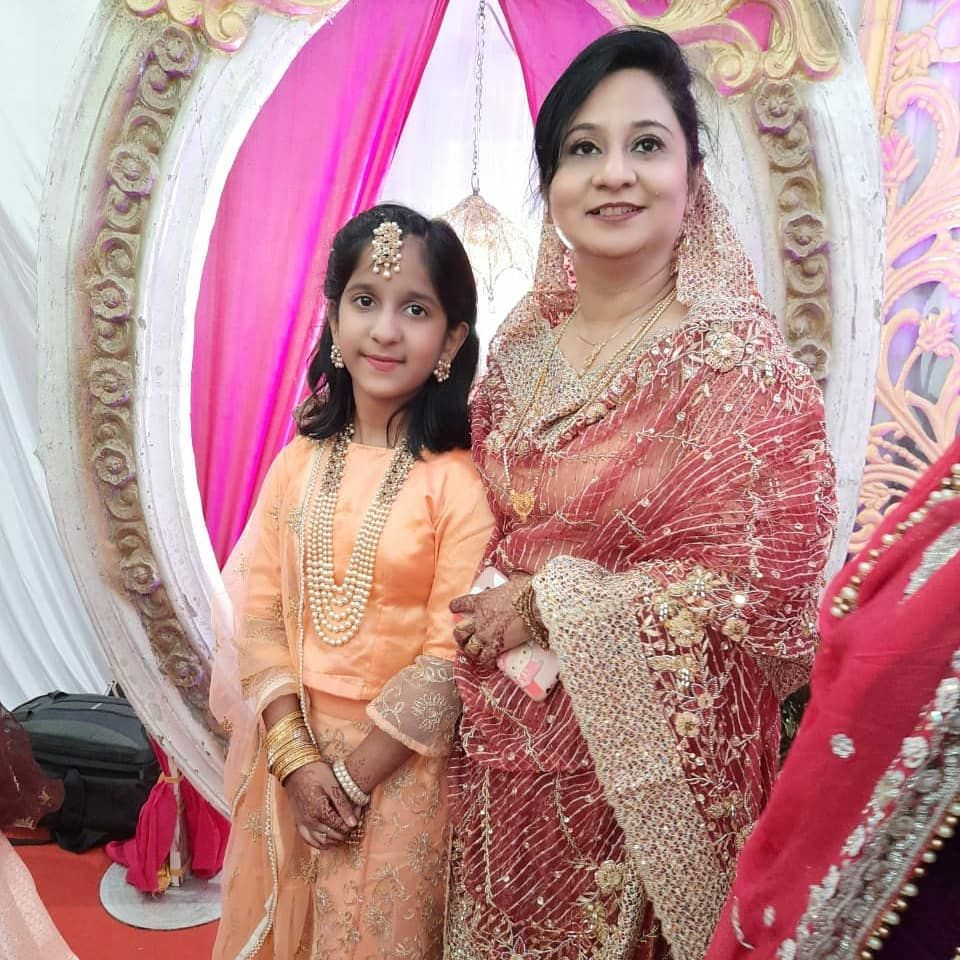 Motherdaughterduo#happyclient# MUA:Saida Shah  Hair:Saida Shah