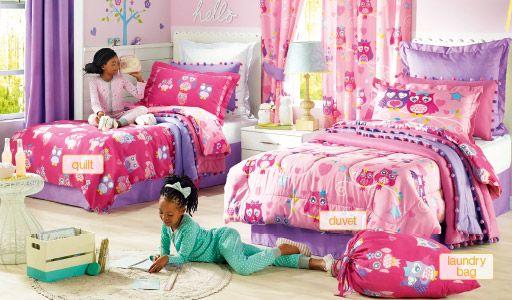 Night Owl Kids Homechoice Kids Bedding Sets Kids Bedding Girl Beds
