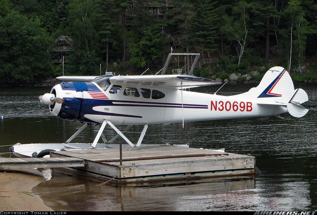 Cessna 195 aircraft picture | Aviation | Aircraft, Flying