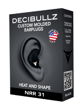 Custom Molded Earplugs Perfect Fit Ear Protection for Motorcycles