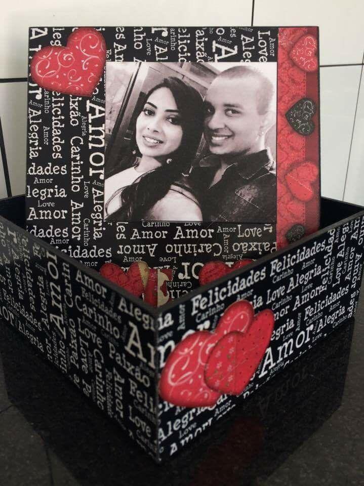 Caixa 365 Motivos Pra Te Amar Surpresas Para Namorado Caixas