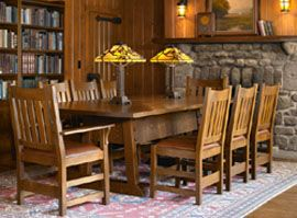 Director S Table A Harvey Ellis Riff On M H Baillie Scott Design The Was Most Often Used Dining In C