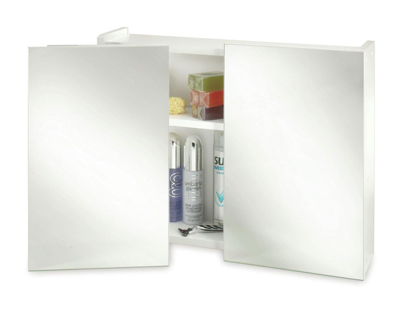 Croydex Swivel Double Door Wooden Mirror Cabinet - WC301922 | Ideas ...