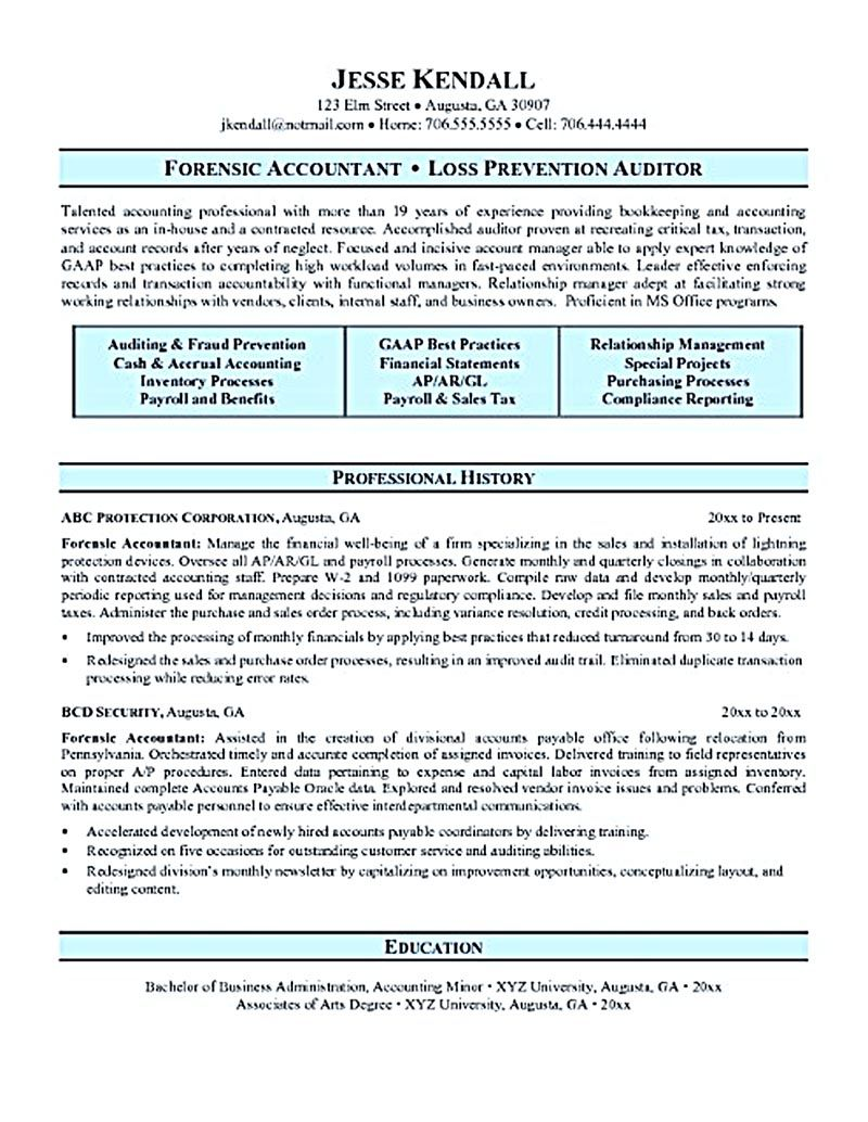 Accounting Student Resume Accounting Resume Ought To Be Perfect In Any Wayif You Want To