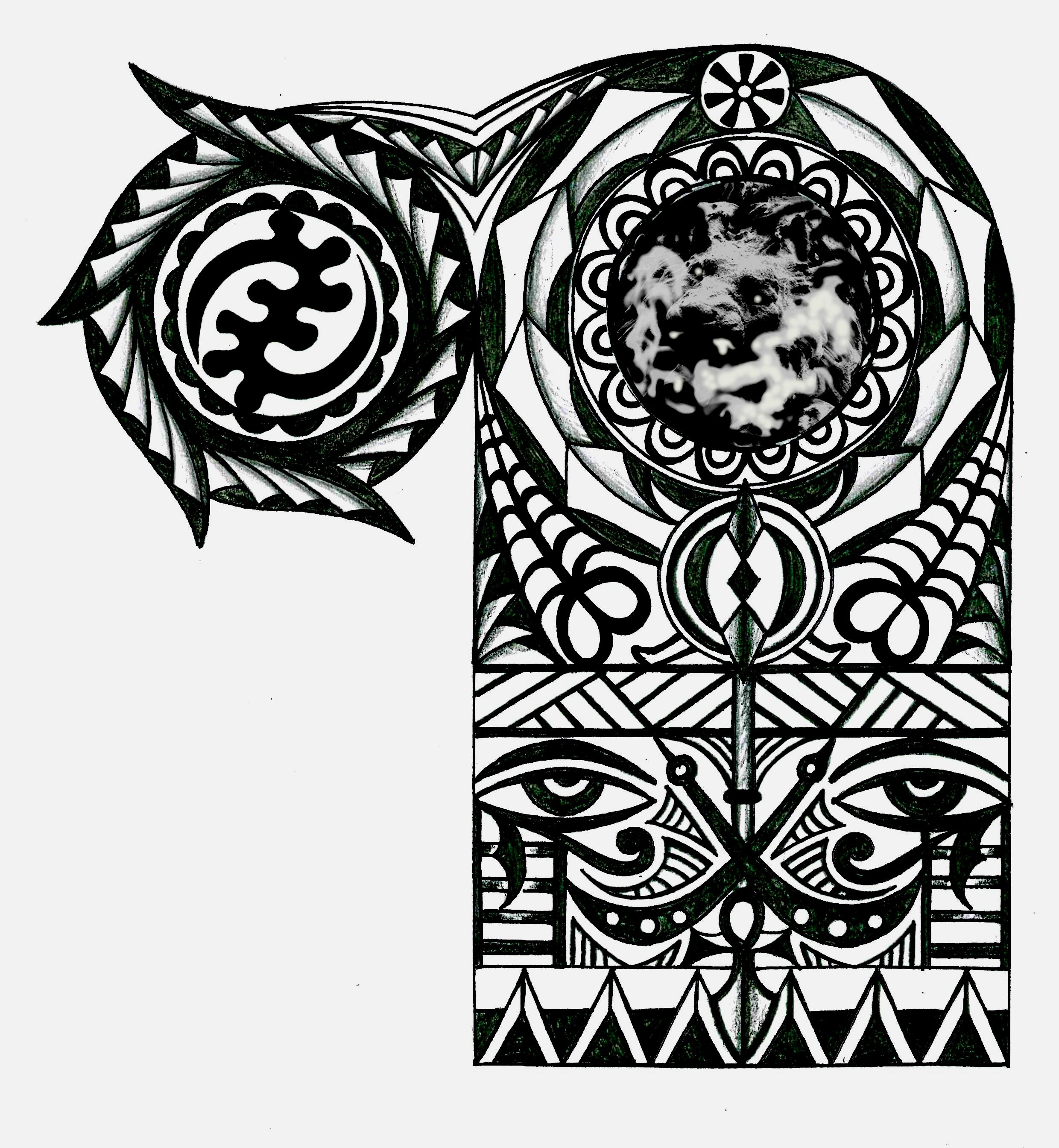 African tribal tattoo google search tattoo 39 s for Tribal warrior tattoos