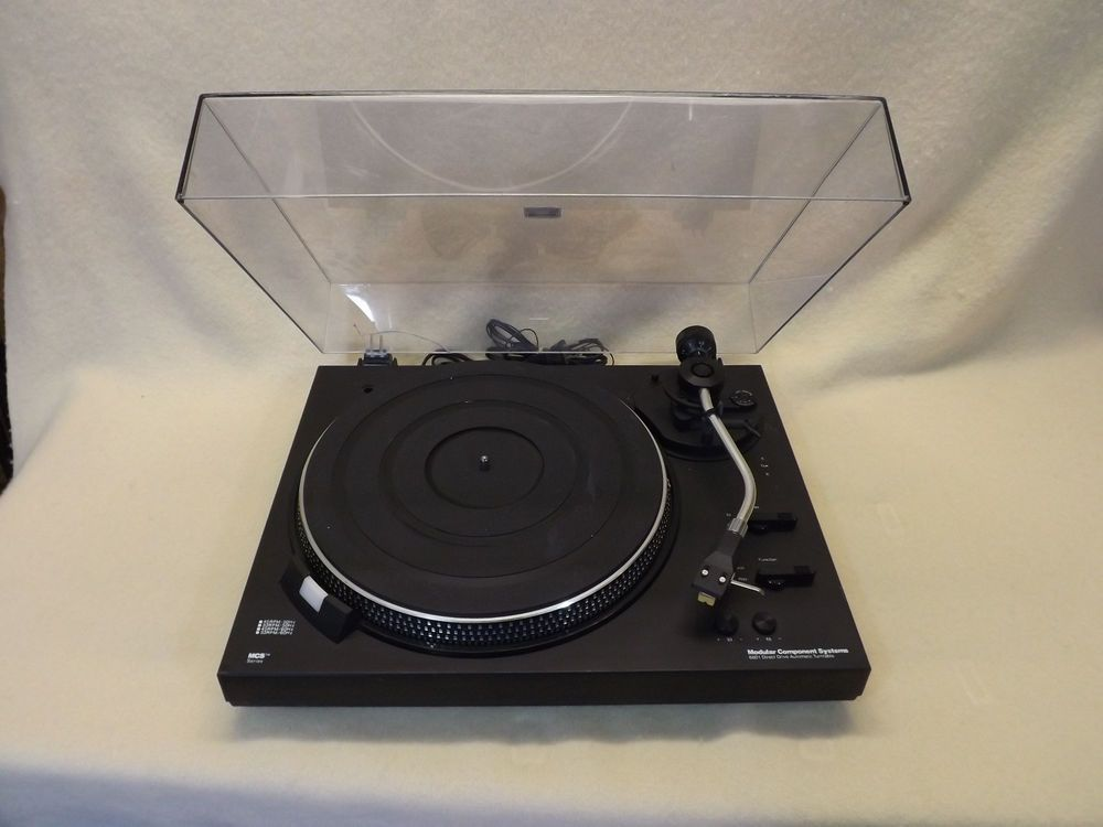 Vintage MCS (Modular Component Systems) Series Turntable (Model 6601)  #MCSModularComponentSystems