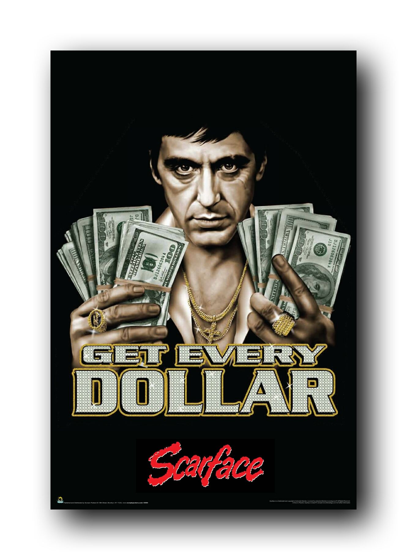 Scarface Title Scarface Wallpaper Category 7 Picture Information Title Scarface Scarface Poster Scarface Movie Poster Art