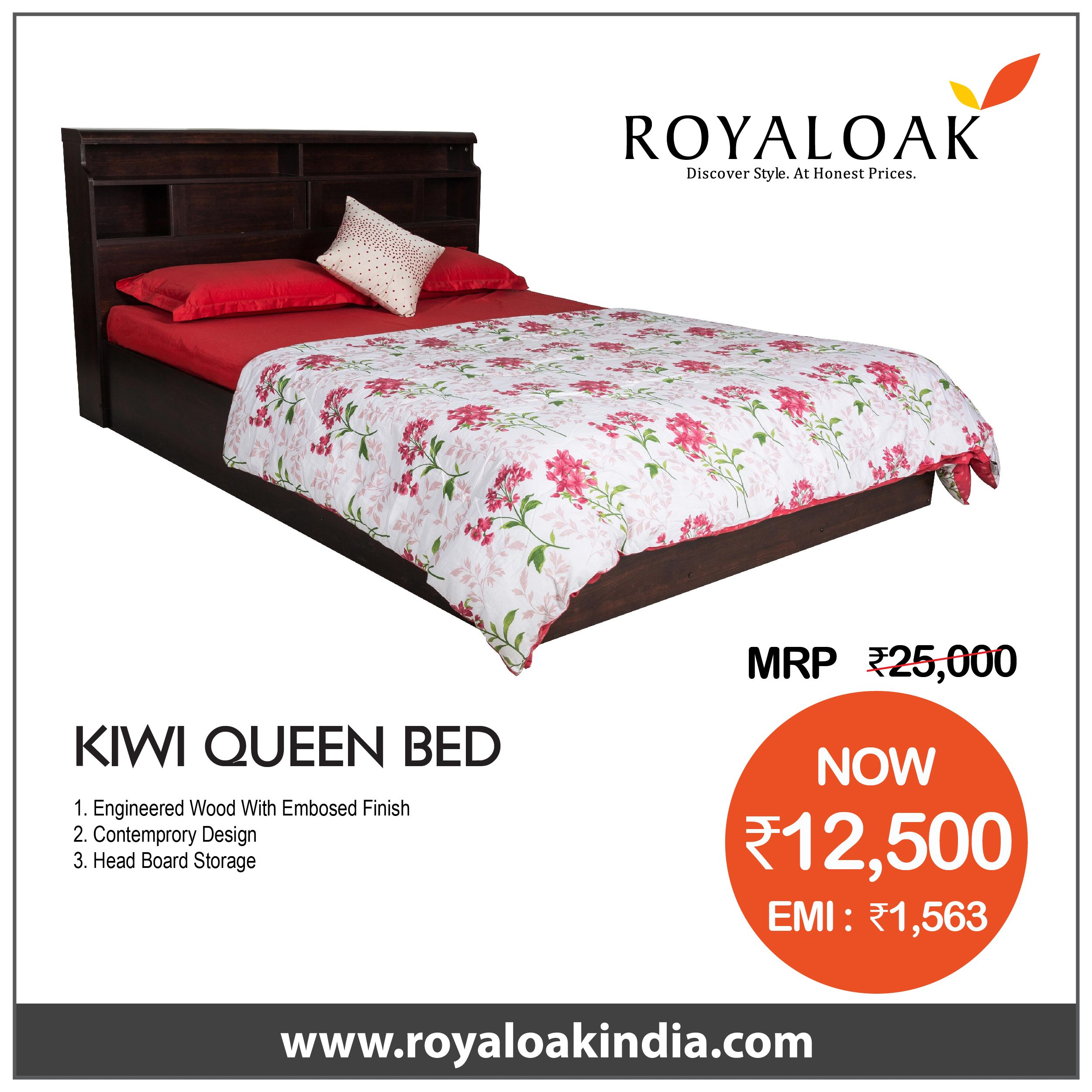 Pin By Royaloak Furniture On Royaloak Queen Bed Dining Table Online Buy Dining Table Queen Beds