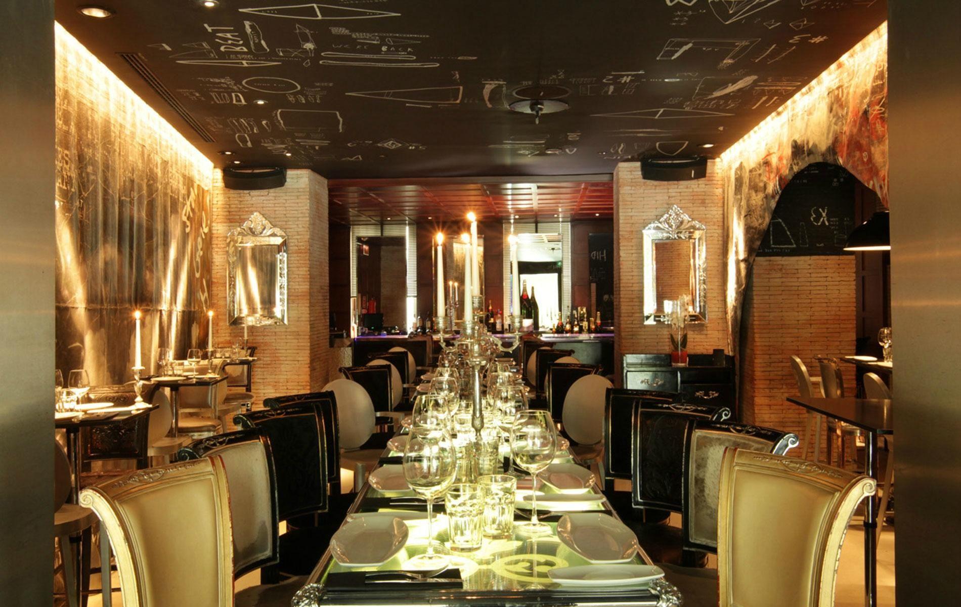 Ramses By Starck Madrid Restaurants Restaurant Design