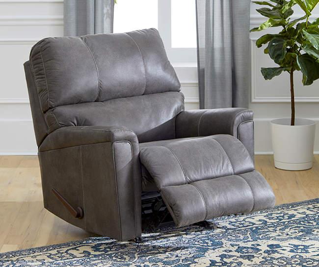 Lane Home Solutions Navigation Gray Rocker Recliner Big Lots In 2020 Rocker Recliners Affordable Living Room Furniture Recliner