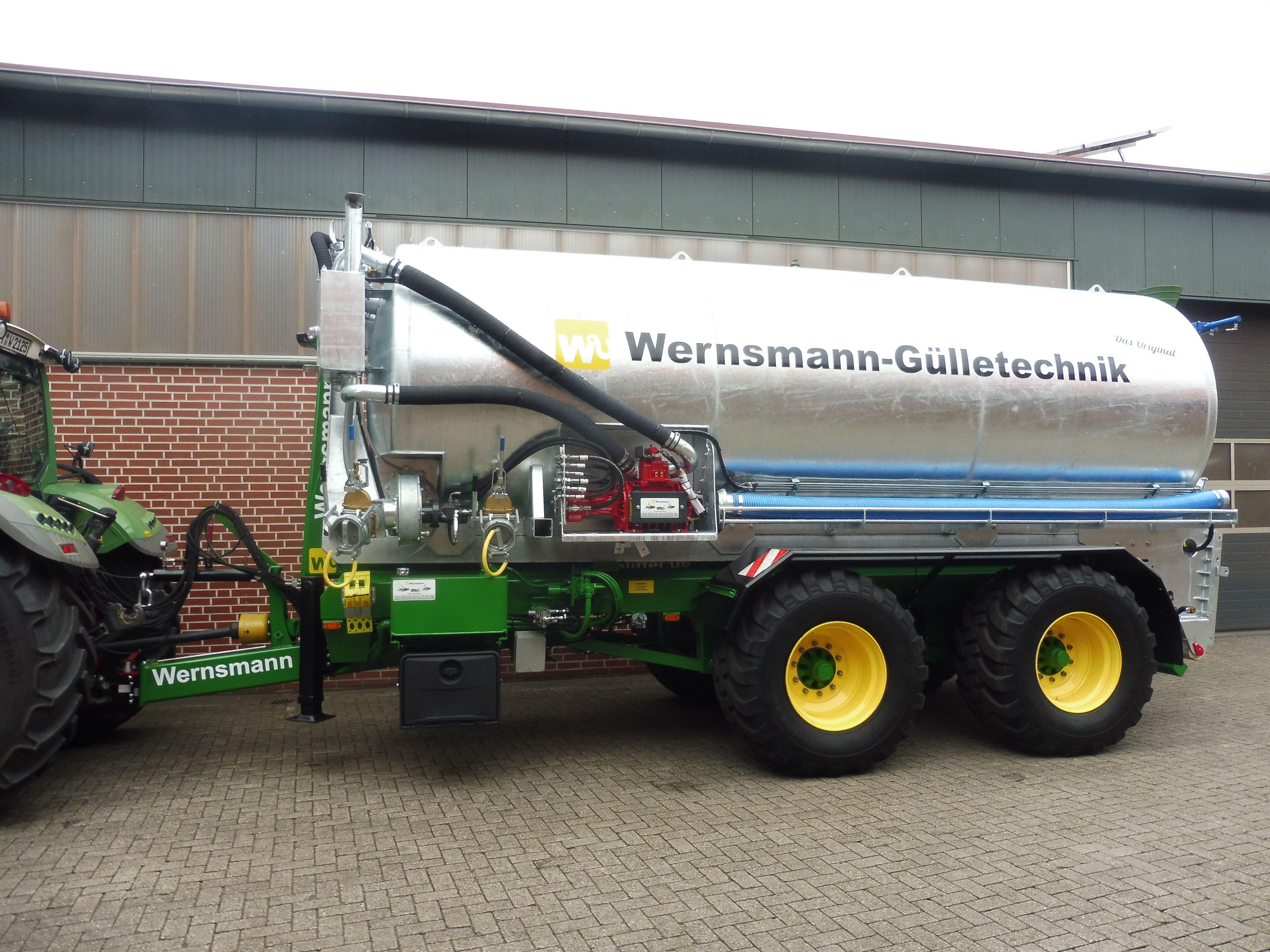Prächtig Güllefass 22000l verzinkt von #Wernsmann Industrieservice &LJ_88