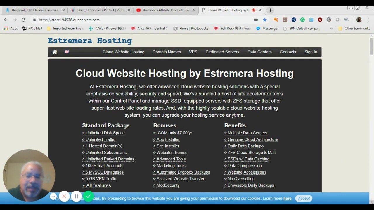 CloudBased Web Hosting Review Estremera Hosting is a