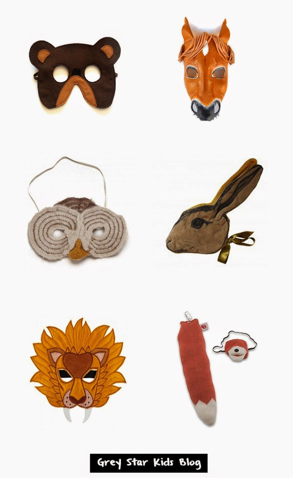 Toysrus Manualidades.Animal Mask Finds Grey Star Kids Blog Halloween Halloween