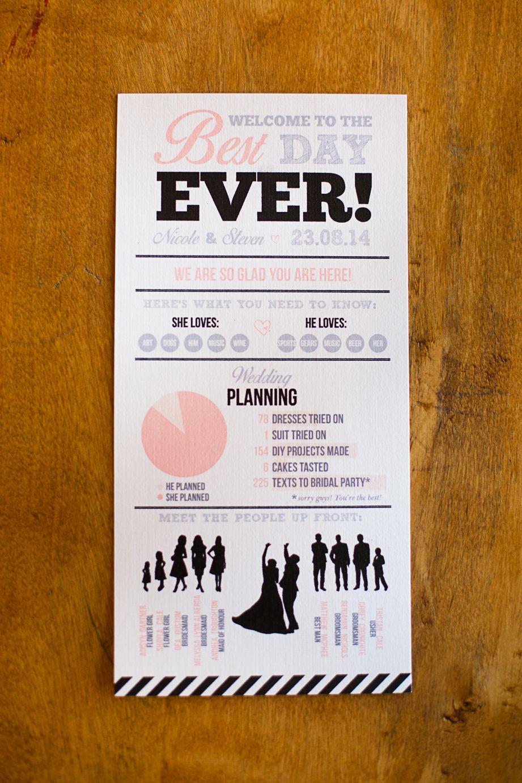 DIY Wedding Programs | Weddingbee Photo Gallery | Wedding; Paper ...