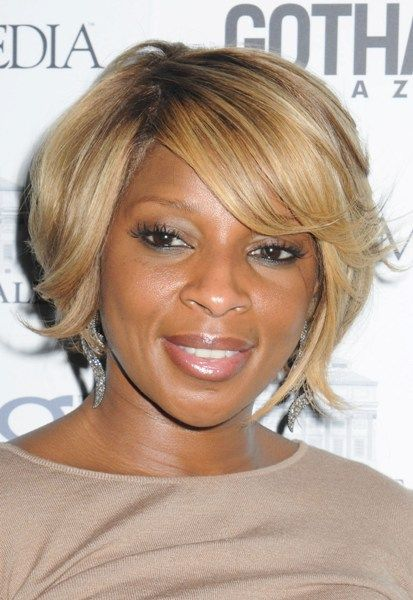 Mary J Blige Hairstyle Pictures Mjb Blonde Hair Hair