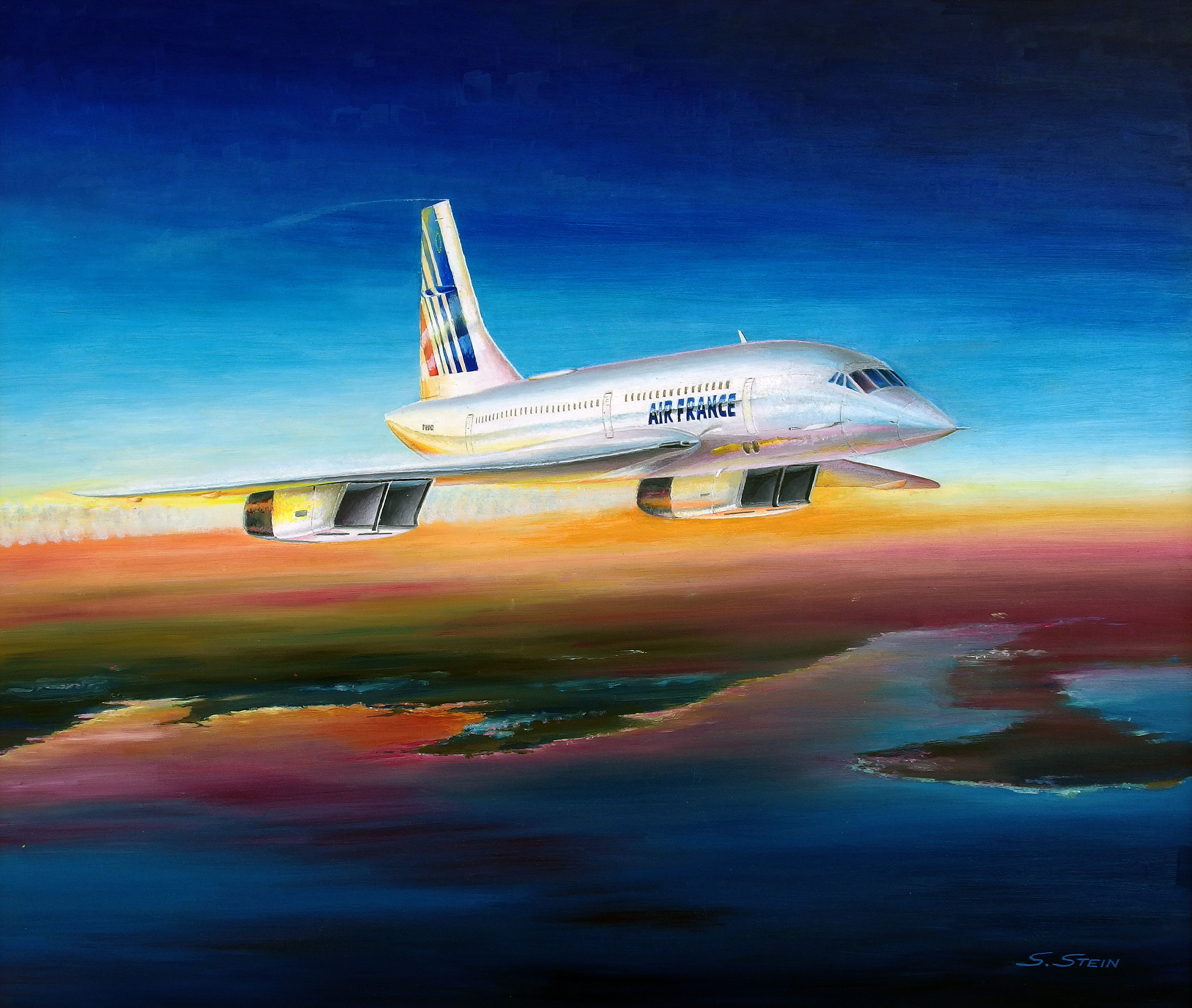Concorde F-BTSD (Seriennr.:213)