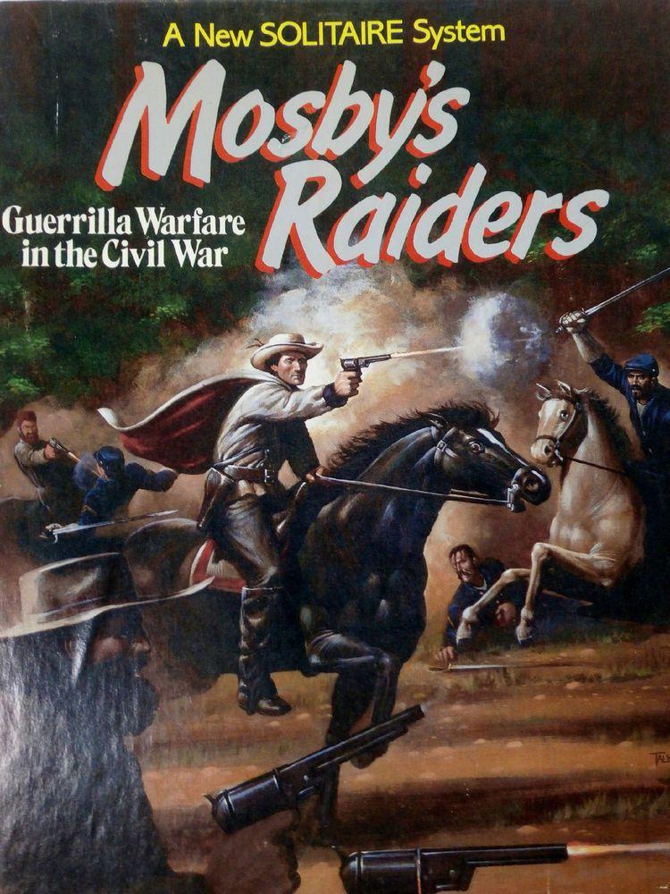 Civil War Games Guerilla Warfare Mosby's Raiders Solitaire