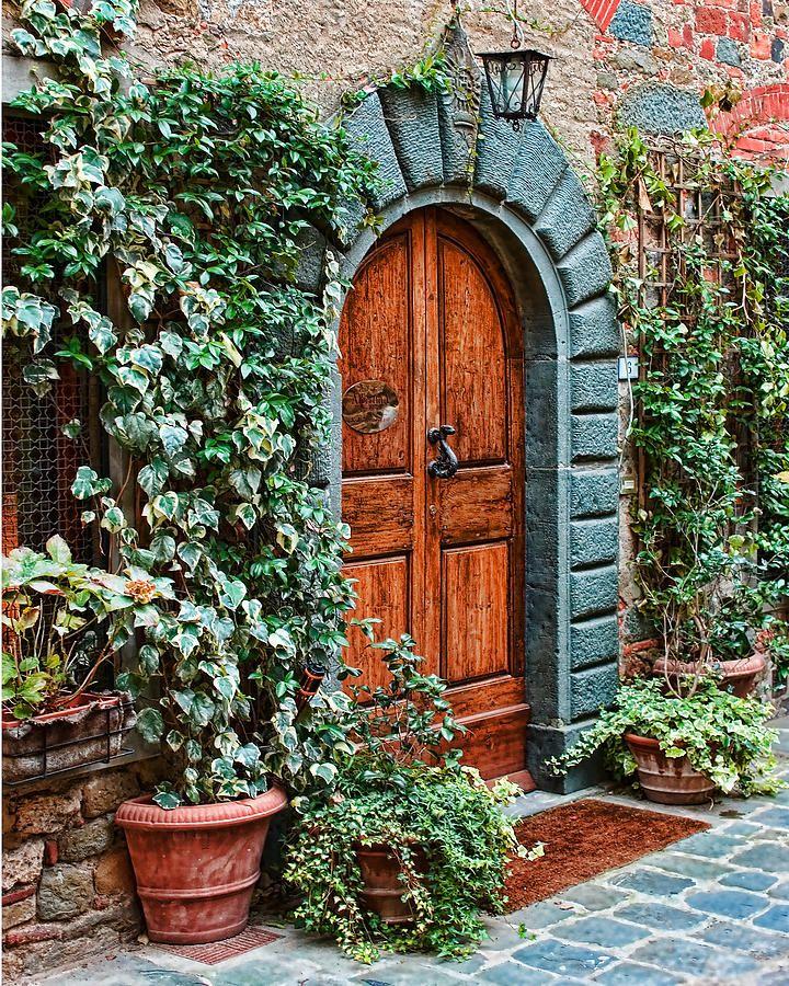 Tuscan Doors - Italy Photograph  Anthony Tilli & Tuscan Doors - Italy Photograph : Anthony Tilli | Doors-Windows ...