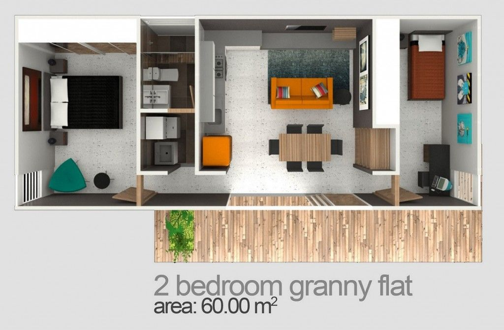 excellent granny flat above garage plans. Blue Gum Granny Flats two bedroom granny flat designs are by far our most  popular in Sydney we have over 12 plans you can choose from all customisable botany Huizen Pinterest Botany and Bedrooms