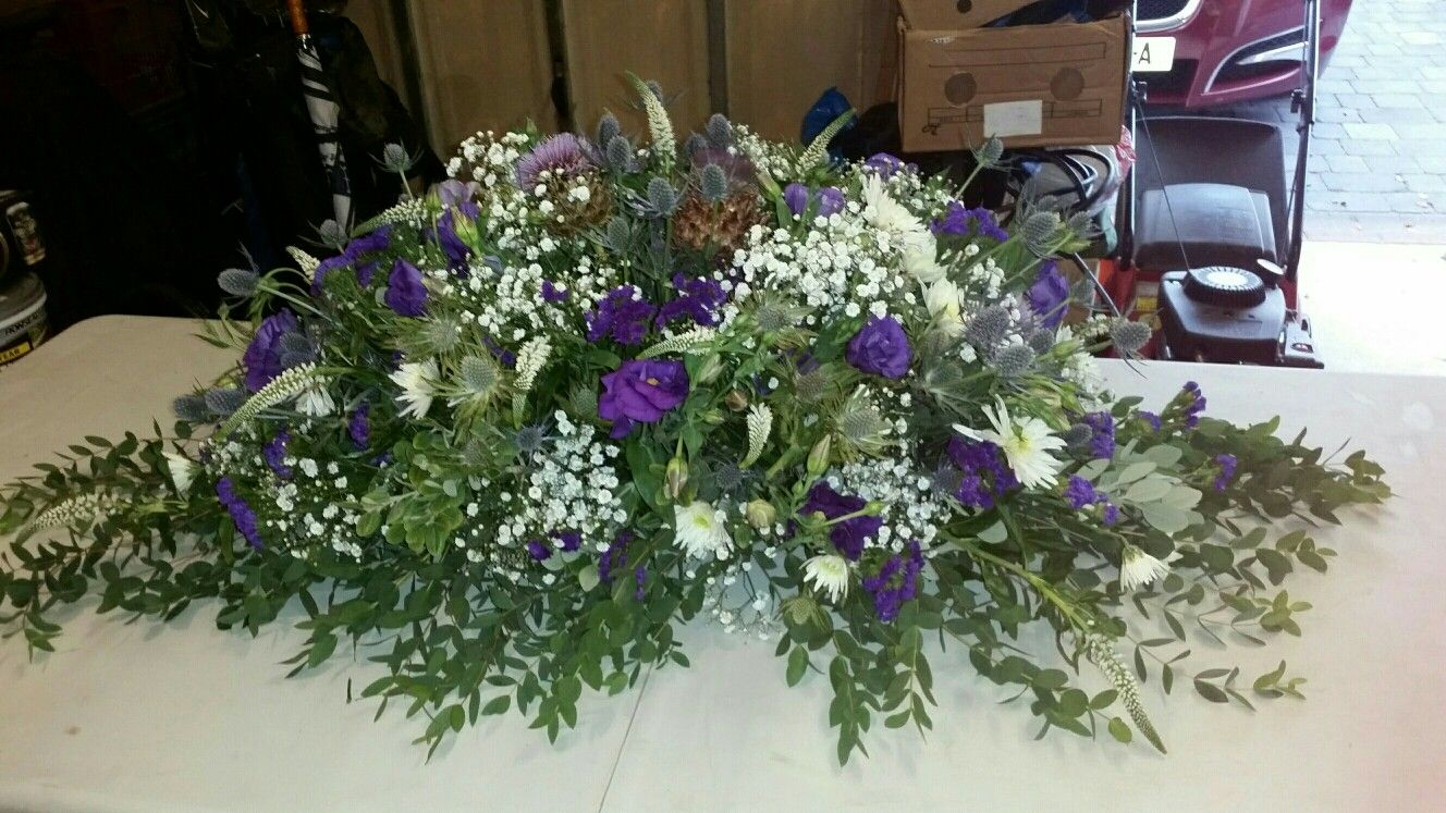 Funeral Flowers Made By Jade And Mandy Coffin Flowers Funeral