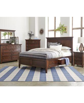 Storage Platform Bedroom 3 Piece Bedroom Set, Created for Macy\'s ...