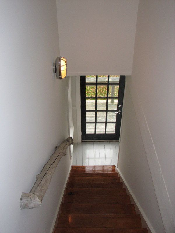 Best Staircase With Driftwood Railing After Home Old Cottage 400 x 300