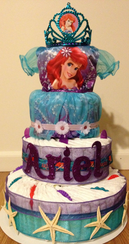 Little Mermaid Diaper Cake Wwwfacebookcom
