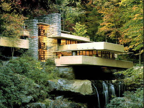 Falling Water House by Frank Lloyd Wright