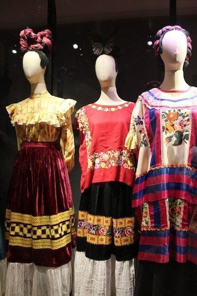Even More Views Of The Frida Kahlo Dress Collection