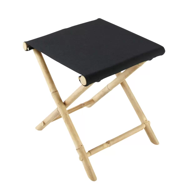 Zew Bamboo Indoor Outdoor Folding Stool Reviews Wayfair Foldable Stool Stool Accent Stool