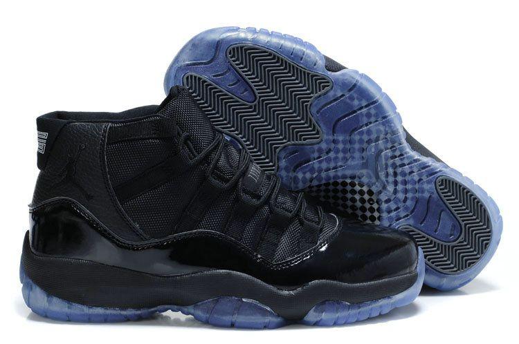 Air Jordan 11 Blackout Gamma Blue  5d095c437