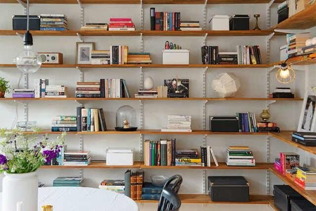 Tag re s cr maill re tag res sur cr maill res shelves on racks bookshelves cool - Meuble cremaillere ...
