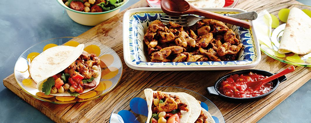 This mexican recipe from old el paso makes 10 chicken soft tacos this mexican recipe from old el paso makes 10 chicken soft tacos with chorizo and forumfinder Choice Image