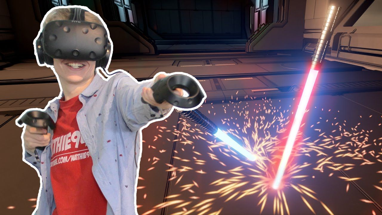 LIGHTSABER TRAINING IN VIRTUAL REALITY! Lightblade VR