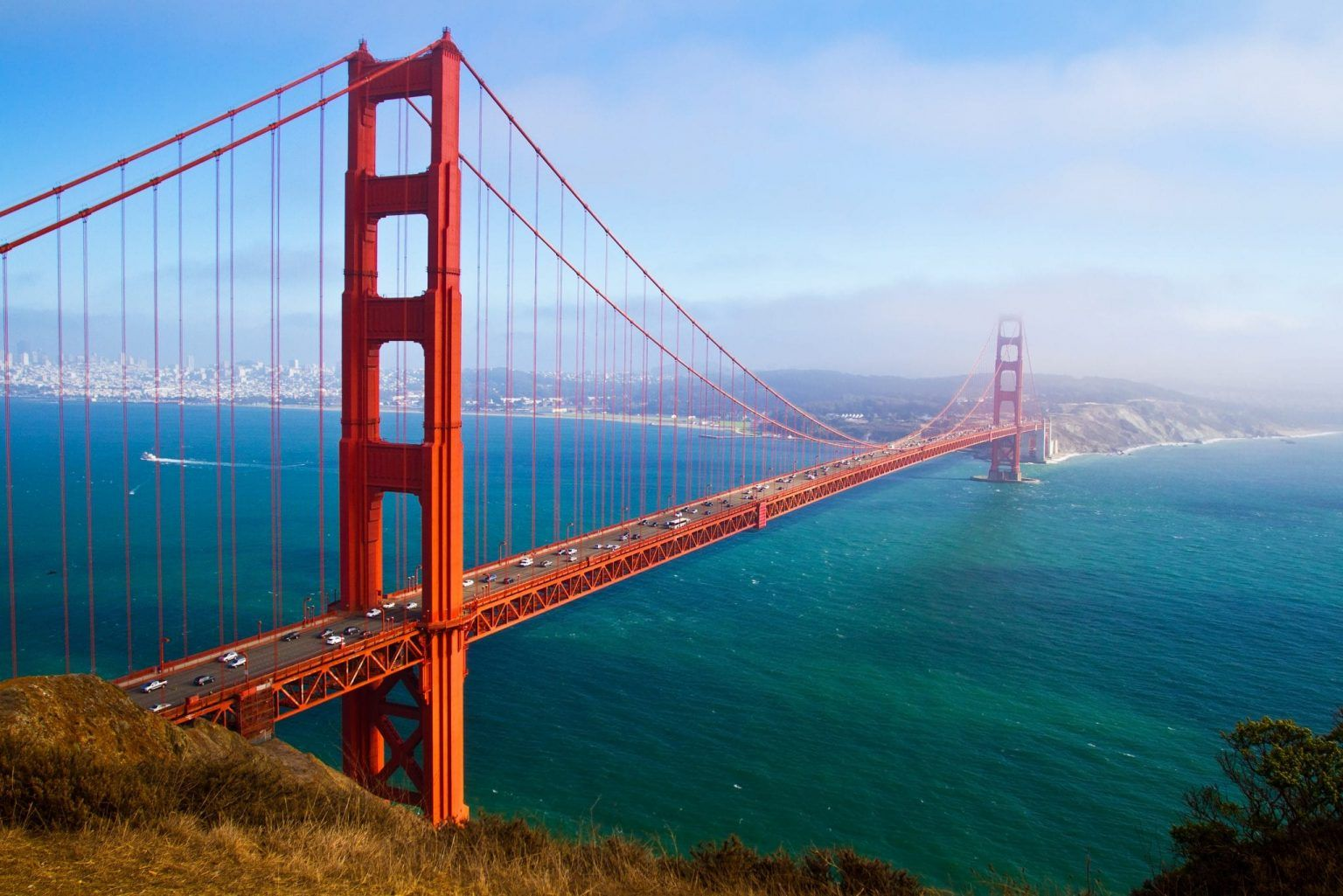 25 Most Romantic Getaways In The Usa Our Escape Clause Cool Places To Visit Scenic Bridges San Francisco Wallpaper