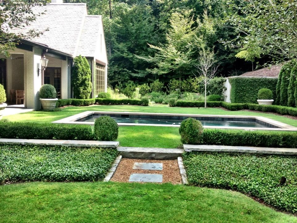 Beau French+Garden+Design | Impressive French Garden Design