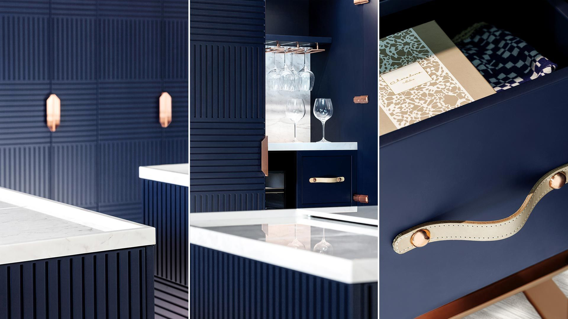 TM Italia-Miuccia - Blue Kitchen | Kitchen | Pinterest | Italia ...