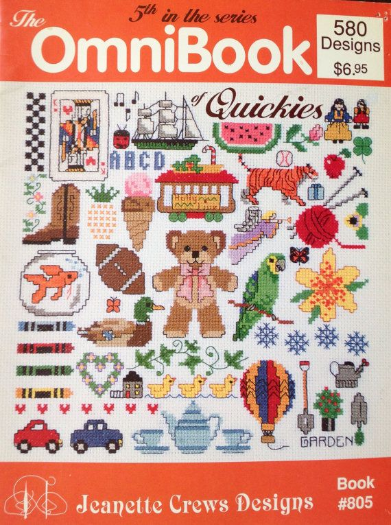 580 Cross Stitch Quick Designs The OmniBook of Quickies 5th in the series Book by Lonestarblondie, $6.95