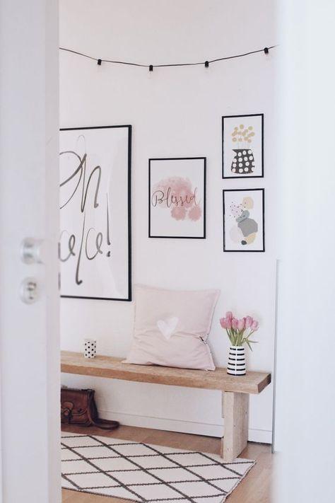Flur hell und einladend gestalten - so wird dein Flur der Hingucker! #eingangsbereichhausinnen