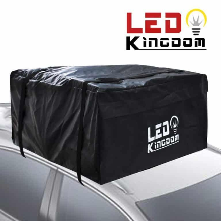 Led Kingdom Water Proof Cargo Top Storage And Car Roof Bag Roof Rack Waterproof Storage Roof Storage