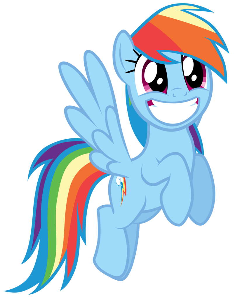 Pin On Rainbow Dash