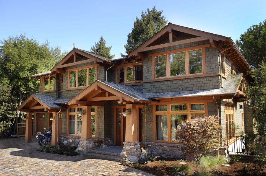 Arts And Craft Style Home Exteriors