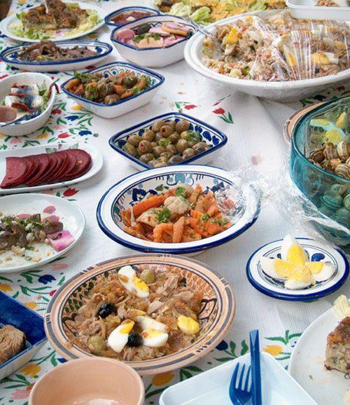 Kemia tunisienne szukaj w google tunisian cuisine pinterest food - Cuisine tunisienne mloukhia ...