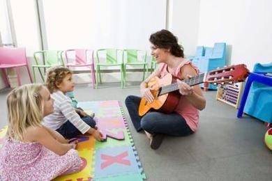 Sunday School Teacher Resume A Sunday School Teacher Sings Easter Songs With Preschoolers .